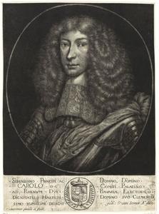 Portret van Karl II van de Palts (1651-1685)