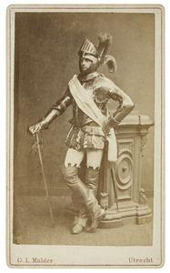 Portret van Raymond Schuurbeque Boeije (1861-1925) als Graaf van Bausignies