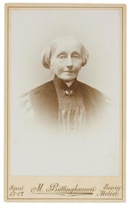 Portret van Wilhelmina Anna Maria Enschede (1820-1905)