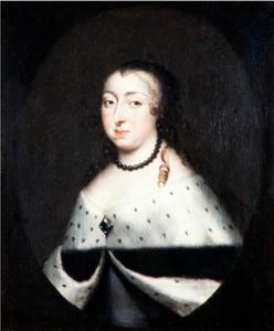 Portret van Hedvig Eleonora (1636-1715), koningin van Zweden