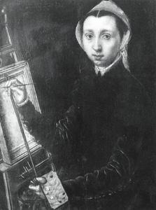 Zelfportret van Catharina van Hemessen (1527/28-after 1567)