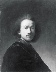 'Zelfportret' van Rembrandt met gouden ketting'