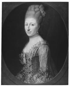 Portret van Jacoba Johanna van Hoorn (1737-1783)