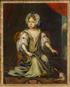 Portret van Louise Dorothee Sophie van Pruisen (1680-1705)
