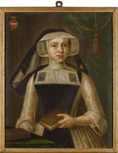 Portret van M.A. van Hugenpoth (?-?)