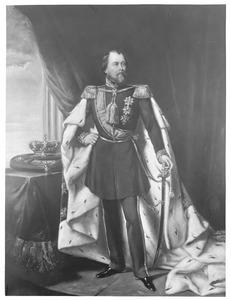 Portret van koning Willem III der Nederlanden (1817-1890)
