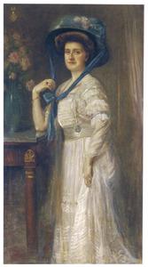 Portret van Engelberta Antoinette Henriette de Roo (1887-1929)