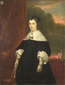 Portret van Machteld Bas (....1681)