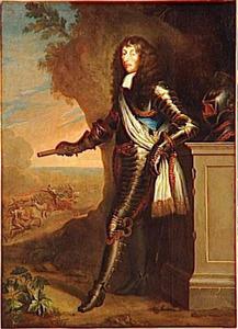 Portret van Louis II de Bourbon, Prince de Condé,  'le Grand Condé'
