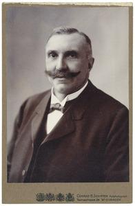 Portret van George Ludwig Carl Heinrich Baud (1858-1921)