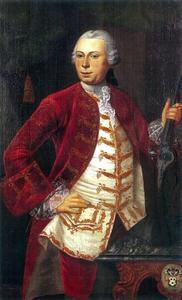 Portret van Abraham van Bleyswijk (1735-1795)