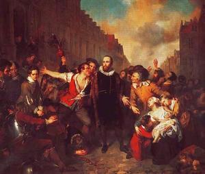 De zelfopoffering van de Leidse burgemeester Pieter van der Werff tijdens het beleg van 1574
