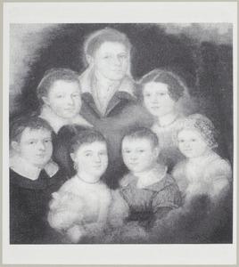 Portret van de kinderen van Jacobus Brevet (1791-1854) en Joanna Maria Tromp (1802-1852)