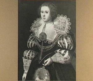 Portret van een vrouw uit het geslacht Van Sminia
