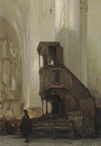 Preekstoel in de Eusebiuskerk in Arnhem