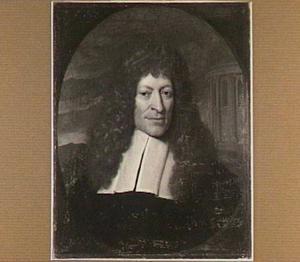Portret van Andreas Essenius (1618-1677), hoogleraar Godgeleerdheid (1653-1677)