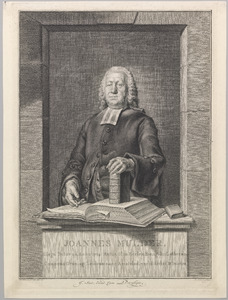Portret van Joannes Mulder (1704-1776)