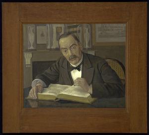Portret van Samuel Adrianus Naber (1828-1913)