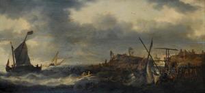 Schepen bij de Nederlandse kust