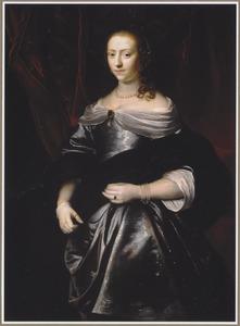 Portret van Lucretia Boudaen (1617-1663)