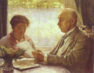 Portret van Gerard en Elisabeth Quarles van Ufford-Arntzenius