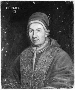 Portret van Giovanni Francesco Albani (1649-1721), paus Clemens XI