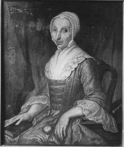 Portret van Dina Adriana Canzius (1705-1779)