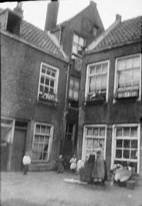 Hofje aan de Goudsesingel te Rotterdam