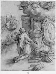 Man offerend aan Jupiter