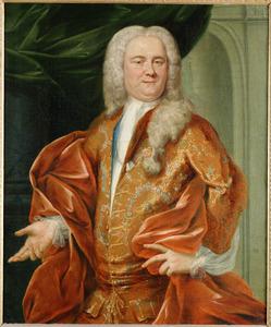 Portret van Jan Jacob van Mansvelt (1704-1754), echtgenoot van Maria Agneta Bongart