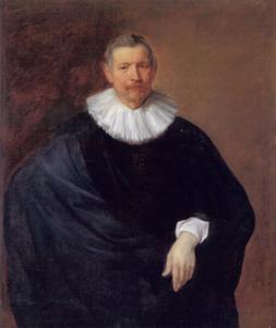Portret van Hubert du Hot