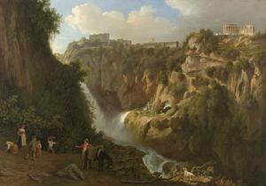 De waterval bij Tivoli