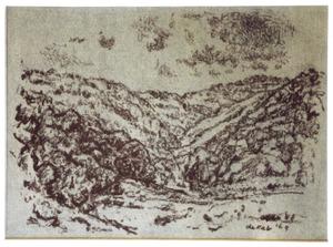 Les monts de cantal in de Auvergne