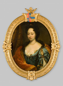 Portret van Adriana Sophia van Raesfelt ( -1694)