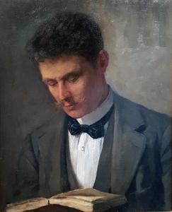 Portret van Cornelis Bergman (1867-1947)