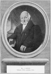 Portret van Jan Bondt (1766-1845)