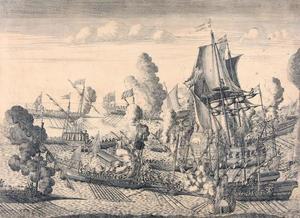 Slag bij Gangut op 27 juli 1714