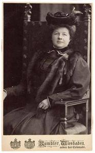 Portret van Annette Lucie van Rappard (1857-1928)
