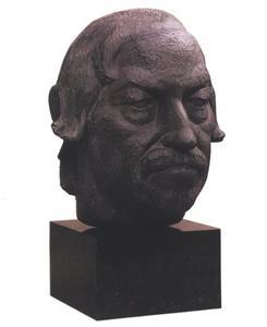 Portret van Gunther Grass (1927- )