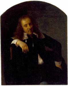 Zelfportret van Gabriel Metsu (1629-1667)