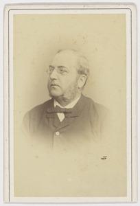 Portret van Leonhard Christiaan Wijtman (1832-1906)