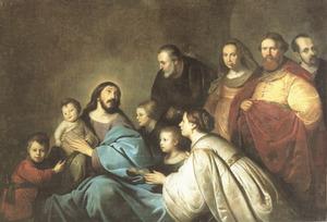 Familieportret van Christus