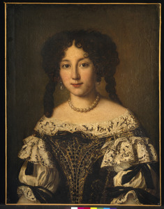 Portret van Marta Ghezzi (1649-1718), echtgenote van marchese Cesare Baldinotti