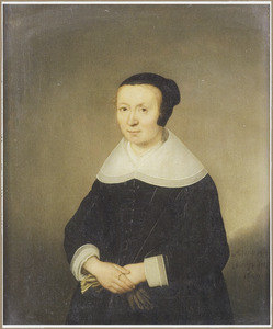 Portret van een 44-jarige vrouw