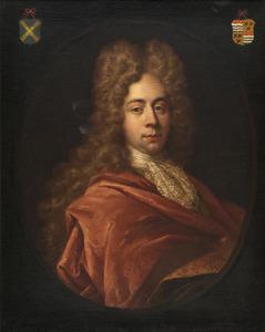 Portret van Jan Carel van der Muelen (1672-1738)
