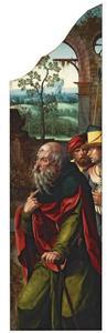 De aanbidding der koningen: Jozef