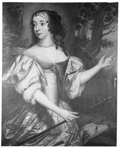 Portret van Albertine Agnes van Oranje- Nassau (1634-1696)