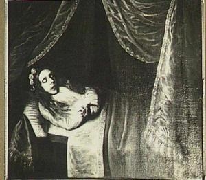 Doodsbedportret van een meisje, 1661