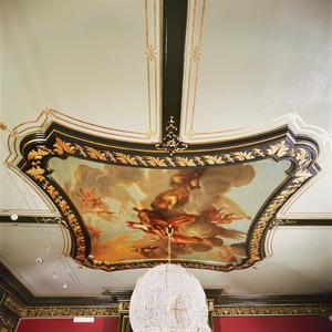Allegorie met Minerva, Apollo, Marsyas en Pegasus