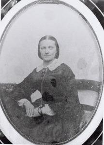 Portret van Pieternella Jacoba Verschoor (1828-1917)